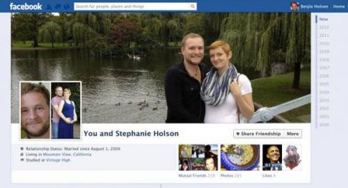 Facebook: nasce il diario di coppia. Ecco come funziona [foto]